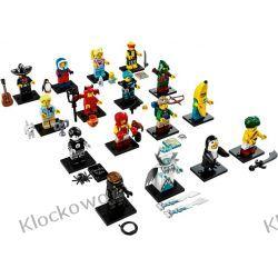 71013 MINIFIGURKI KOMPLET 16 SZT - KLOCKI LEGO MINIFIGURKI