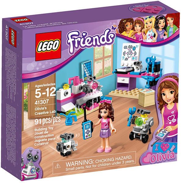Klocki Lego Friends 41307 Kreatywne Laboratorium Olivii