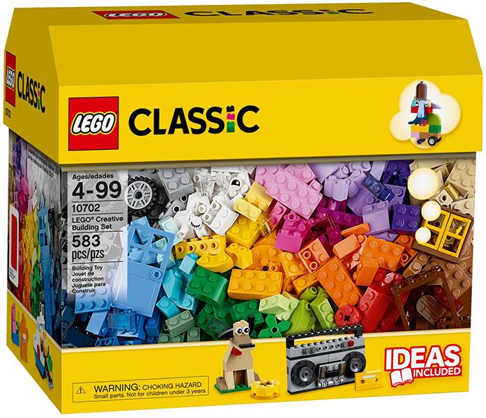 Klocki Lego Classic 10702 Zestaw Do Kreatywnego Budowania Lego