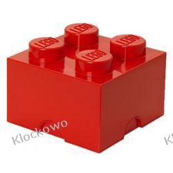 POJEMNIK LEGO 4 CZERWONY - LEGO POJEMNIKI