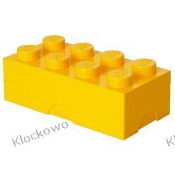 ŚNIADANIÓWKA LEGO KLOCEK ŻÓŁTY - LEGO POJEMNIKI