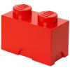 POJEMNIK LEGO 2 CZERWONY - LEGO POJEMNIKI