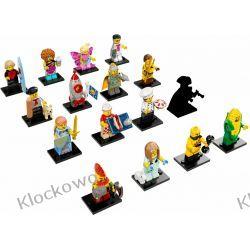 71018 MINIFIGURKI KOMPLET 16 SZT - KLOCKI LEGO MINIFIGURKI