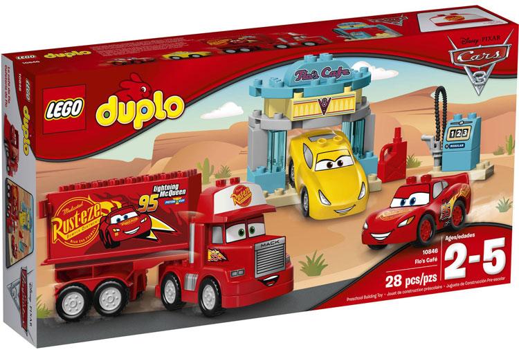 10846 Kawiarnia Flo Flos Café Klocki Lego Duplo Cars Lego Duplo