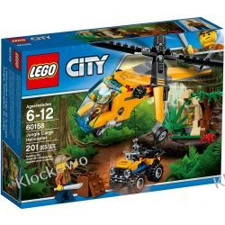 60158 HELIKOPTER TRANSPORTOWY (Jungle Cargo Helicopter) KLOCKI LEGO CITY