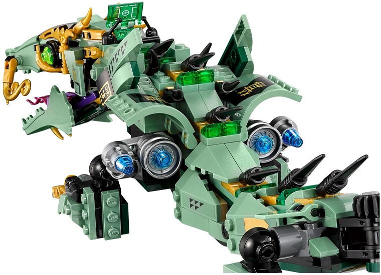 70612 Mechaniczny Smok Zielonego Ninja Green Ninja Mech Dragon