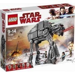 75189 CIĘŻKA MASZYNA KROCZĄCA NAJWYŻSZEGO PORZĄDKU™ (First Order Heavy Assault Walker) KLOCKI LEGO STAR WARS