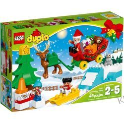 10837 ZIMOWE FERIE ŚWIĘTEGO MIKOŁAJA (Santa's Winter Holiday) KLOCKI LEGO DUPLO