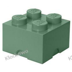 POJEMNIK LEGO 4 PIASKOWA ZIELEŃ - LEGO POJEMNIKI
