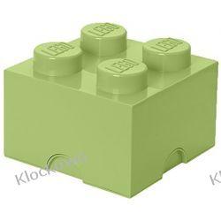 POJEMNIK LEGO 4 ŻÓŁTAWA ZIELEŃ - LEGO POJEMNIKI