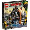 70631 WULKANICZNA KRYJÓWKA GARMADONA (Garmadon's Volcano Lair) KLOCKI LEGO NINJAGO
