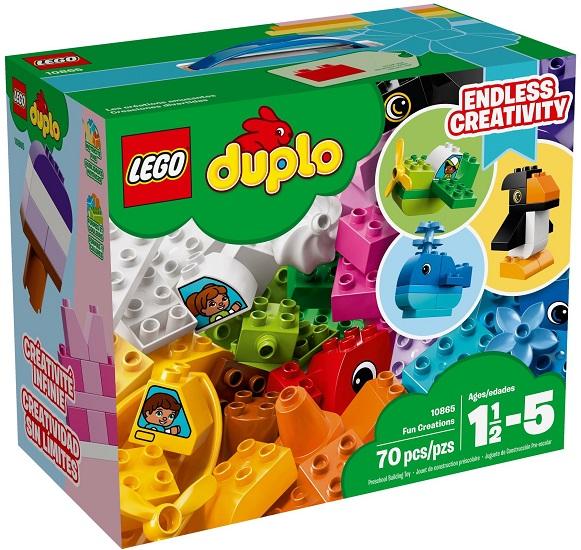 10865 Wyjątkowe Budowle Fun Creations Klocki Lego Duplo Lego