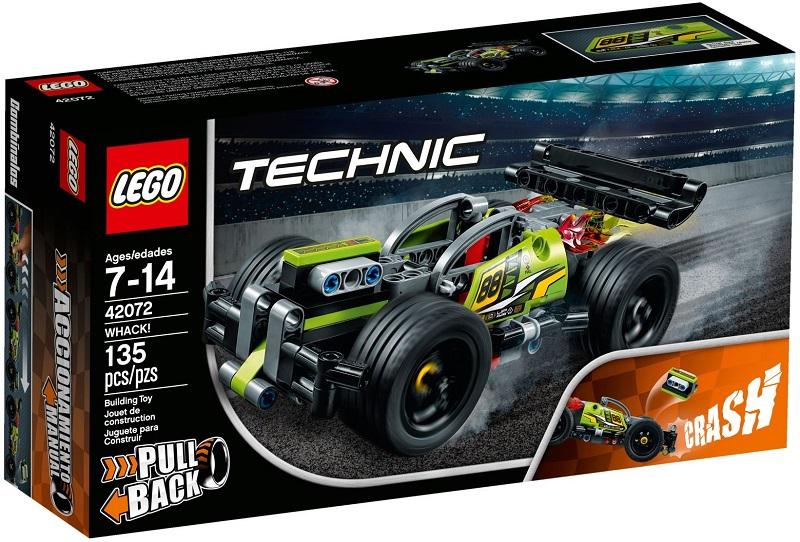 42072 żółta Wyścigówka Whack Klocki Lego Technic Lego Technic