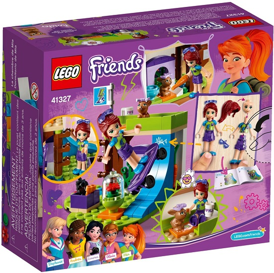 41327 Sypialnia Mii Mias Bedroom Klocki Lego Friends Lego