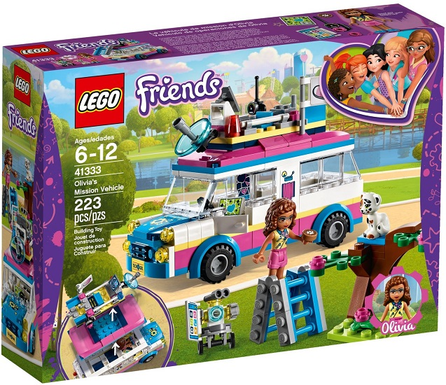 41333 Furgonetka Olivii Olivias Mission Vehicle Klocki Lego