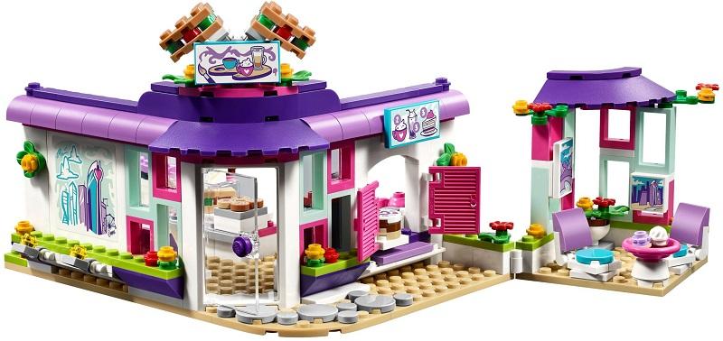 41336 Artystyczna Kawiarnia Emmy Emmas Art Cafe Klocki Lego