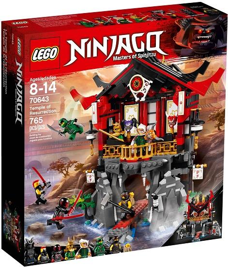 70643 świątynia Wskrzeszenia Temple Of Resurrection Klocki Lego