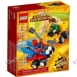 76089 SPIDER-MAN VS. SANDMAN (Mighty Micros Scarlet Spider vs Sandman) - KLOCKI LEGO SUPER HEROES