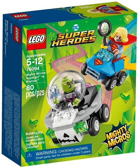 76094 Supergirl Vs Brainiac Mighty Micros Supergirl Vs
