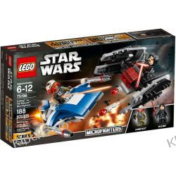 75196 A-WING™ KONTRA TIE SILENCER™ (A-Wing vs. TIE Silencer Microfighters) KLOCKI LEGO STAR WARS