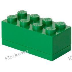 MINI POJEMNIK LEGO 8 ZIELONY - LEGO POJEMNIKI