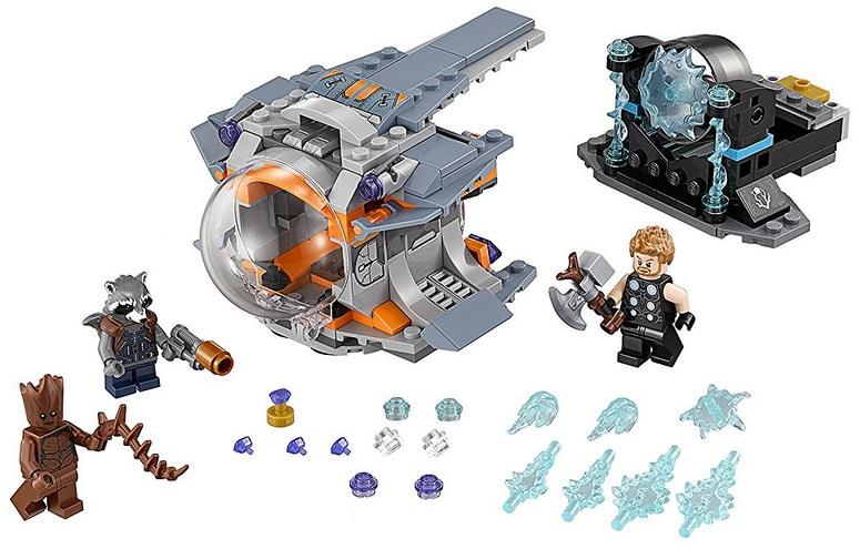 76102 Poszukiwanie Broni Thora Thors Weapon Quest Klocki Lego