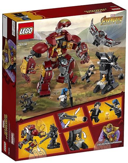 76104 Walka W Hulkbusterze The Hulkbuster Smash Up Klocki Lego