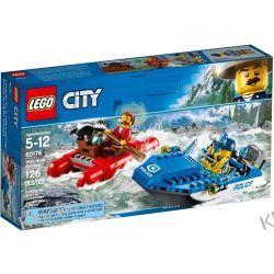 60176 UCIECZKA RZEKĄ (Wild River Escape) KLOCKI LEGO CITY