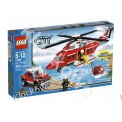 7206 HELIKOPTER STRAŻY POŻARNEJ KLOCKI LEGO CITY
