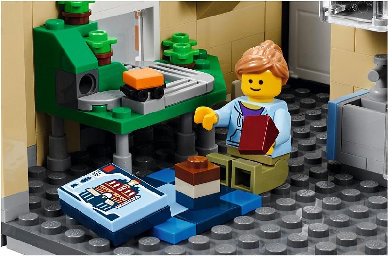 10255 Plac Zgromadzeń Assembly Square Klocki Lego Exclusive