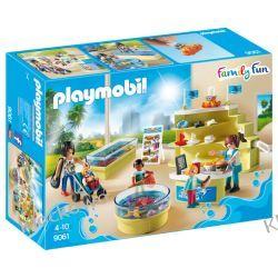 PLAYMOBIL 9061 SKLEPIK W OCEANARIUM - FAMILY FUN