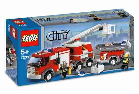 Klocki Lego Straż pożarna