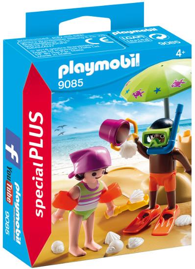 Playmobil 9085 Dzieci Z Zamkiem Z Piasku Specialplus Playmobil