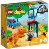 10880 WIEŻA TYRANOZAURA (T. rex Towe) - KLOCKI LEGO DUPLO JURASSIC WORLD