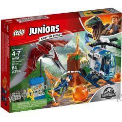 10756 UCIECZKA PRZED PTERANODONEM (Pteranodon Escape) - KLOCKI LEGO JUNIORS JURASSIC WORLD