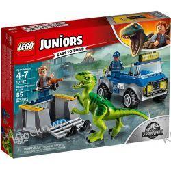 10757 NA RATUNEK RAPTOROM (Raptor Rescue Truck) - KLOCKI LEGO JUNIORS JURASSIC WORLD