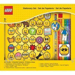 51180 ZESTAW ARTYKUŁÓW SZKOLNYCH Z BLOKIEM - LEGO GADŻETY