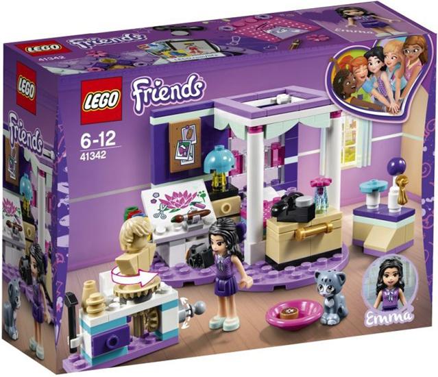41342 Sypialnia Emmy Emmas Deluxe Bedroom Klocki Lego Friends