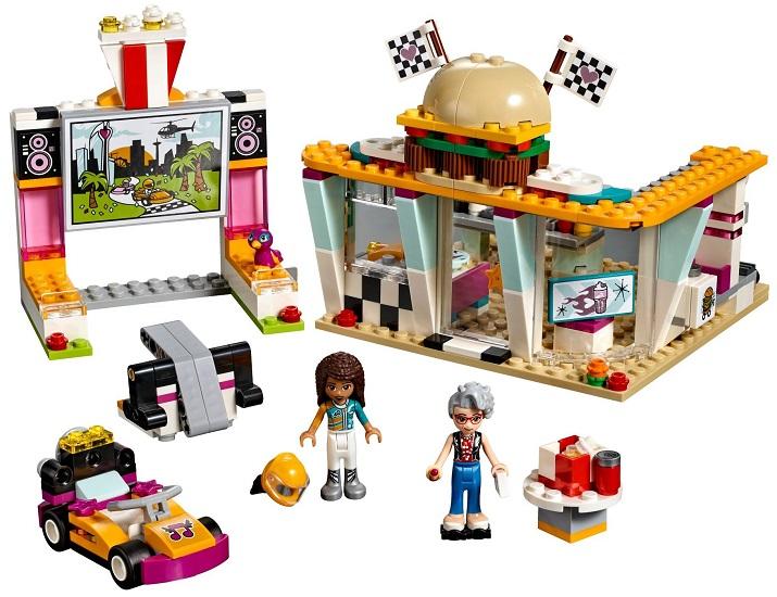 41349 Wyścigowa Restauracja Drifting Diner Klocki Lego Friends