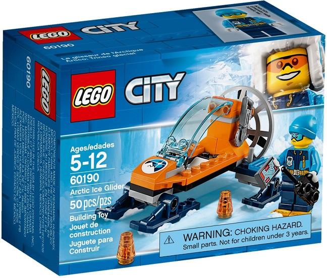 60190 Arktyczny ślizgacz Arctic Ice Glider Klocki Lego City Lego