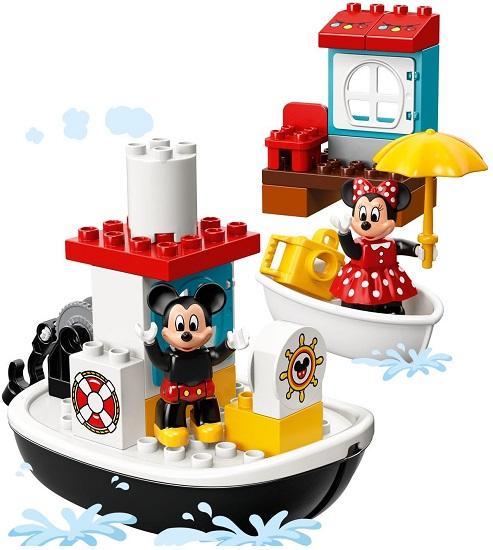 10881 łódka Mikiego Mickeys Boat Klocki Lego Duplo Lego Duplo