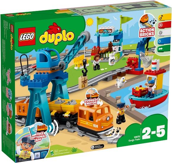 10875 Pociąg Towarowy Cargo Train Klocki Lego Duplo Lego Duplo