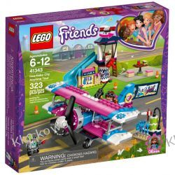 41343 LOT NAD HEARTLAKE (Heartlake City Airplane Tour) KLOCKI LEGO FRIENDS