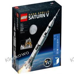 21309 LEGO RAKIETA NASA APOLLO (NASA Apollo Saturn V) KLOCKI LEGO IDEAS