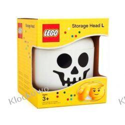 POJEMNIK LEGO GŁÓWKA L SZKIELET - LEGO POJEMNIKI