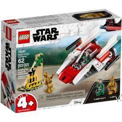75247 REBELIANCKI MYŚLIWIEC A-WING - KLOCKI LEGO STAR WARS