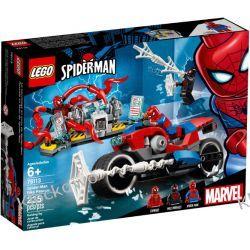 76113 POŚCIG MOTOCYKLEM SPIDER-MANA (Spider-Man Bike Rescue) - KLOCKI LEGO SUPER HEROES