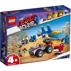 70821 WARSZTAT EMMETA I BENKA  (Emmet and Benny's 'Build and Fix' Workshop!) KLOCKI LEGO MOVIE 2