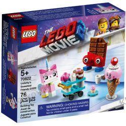 70822 NAJLEPSI PRZYJACIELE KICI ROŻEK (Unikitty's Sweetest Friends EVER!) KLOCKI LEGO MOVIE 2