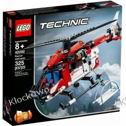 42092 HELIKOPTER RATUNKOWY (Rescue Helicopter) KLOCKI LEGO TECHNIC